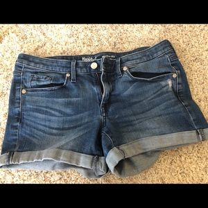 Mossimo Denim shorts, size 4/27